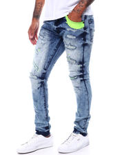 Spring-Summer-M - Neon Rip and Repair Jean-2501329