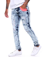 Spring-Summer-M - Neon Rip and Repair Jean-2501407