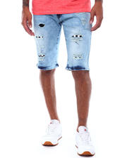 Spring-Summer-M - Patchwork Denim Short-2501277