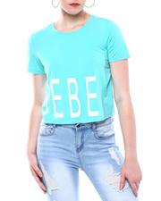 Bebe - Bebe Logo Crop S/S T-shirt-2502059