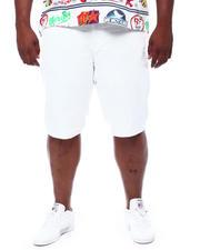 Jordan Craig - Raw Edge Hem Denim Shorts (B&T)-2500460
