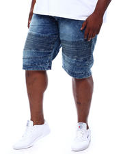 Akademiks - Moto Denim Shorts (B&T)-2500929