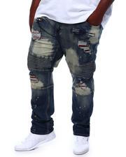 Makobi - The Cam Jean Patch Moto Jeans (B&T)-2501808