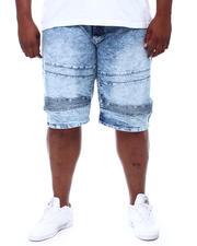 Akademiks - Moto Denim Shorts (B&T)-2501095