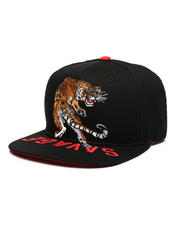 Hats - Tiger & Savage Embroidery Snapback Hat-2502878