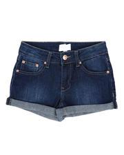 BCBGirls - Roll Cuff Denim Shorts (7-16)-2503107