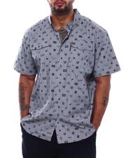 Button-downs - Trademark AOP S/S Woven (B&T)-2503224