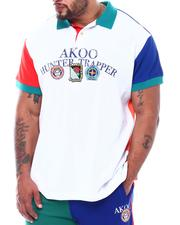 AKOO - Nature Colorblock Polo (B&T)-2503498