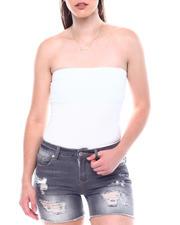 Fashion Lab - Strapless Tube Top Bodysuit-2504257