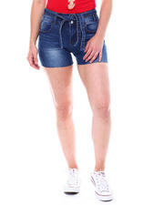 Women - High Rise Belted Short-2504480