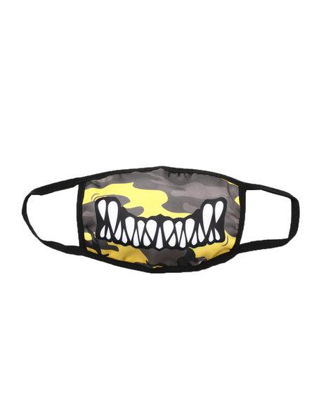 Black Pyramid - Monster Bite Face Mask (Unisex)