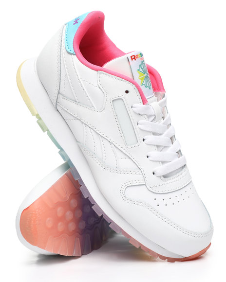 Reebok - Classic Leather Sneakers (3.5-7)