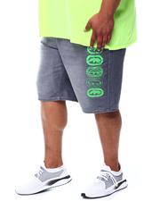 Men - Neon Lights Rhino Repeat Denim Short (B&T)-2504121