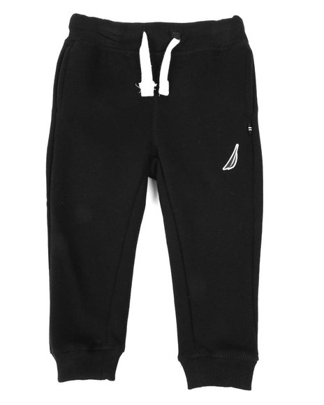 Nautica - Solid Knit Jogger Pants (2T-4T)