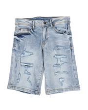 Bottoms - 5 Pocket Denim Shorts (8-18)-2504626