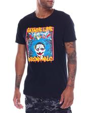 Hard Turn - Savage Life Clown Tee-2503277