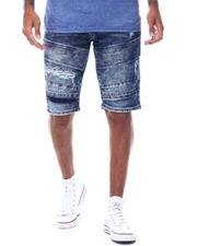 WT02 - Moto Stretch Denim Short-2503839