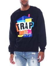 Sweatshirts & Sweaters - Trap Life Crewneck Sweatshirt-2504046
