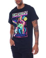 Liquid Blue - HENDRIX GUITAR BLACKLIGHT Tee-2504085