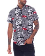 Button-downs - COMIC SS BUTTONDOWN SHIRT-2504349