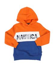Boys - Color Block Hoodie (4-7)-2504801