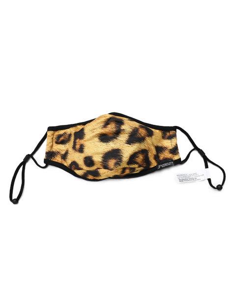 FYDELITY - Leopard Face Mask (Unisex)