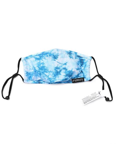 FYDELITY - Kids Tie Dye Blue Face Mask (Unisex)