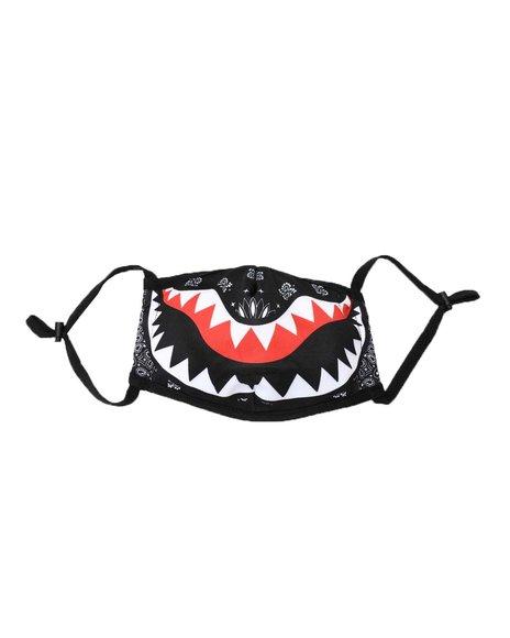 Buyers Picks - Bandana Shark Teeth Face Mask (Unisex)
