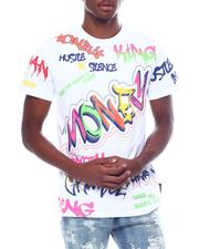 SWITCH - Money color Graffiti Tee-2505427