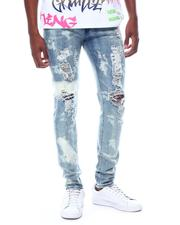 Men - Bleached out Distressed Jean-2505516