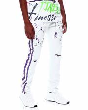 Buyers Picks - Side Stripe Neon Splatter Pant-2505724