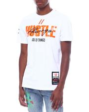 SWITCH - Hustle Foil Print Tee-2505579