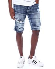 WT02 - Moto Stretch Denim Short-2506530
