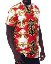 Buyers Picks - Filigree Scuba Printed Crew T-Shirt-2506453