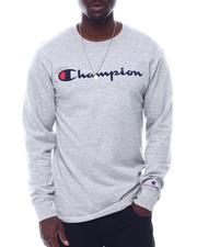 T-Shirts - LS Script Logo Tee-2506091