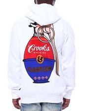Crooks & Castles - Pop art Grenade Hoodie-2506352