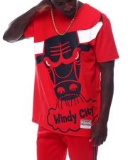 Mitchell & Ness - CHICAGO BULLS Big Face Tee-2505652