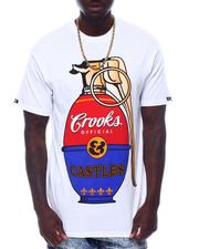 Crooks & Castles - Pop art Grenade Tee-2506280