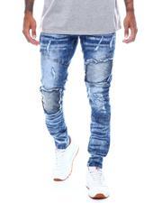 Jeans - DISTRESSED MOTO JEAN-2506014