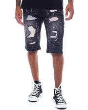 SWITCH - Multi Color Patch Paint Splatter Short-2506128