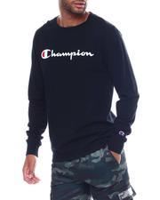 Champion - LS Script Logo Tee-2506241