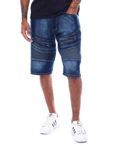 Rocawear - Al Dente Denim Moto Short