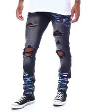 KDNK - RIPPED JEANS WITH MULTI-PAINT SPLATTER-2506828