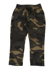Boys - Camo Stretch Moto Jogger Pants (2T-4T)-2507278