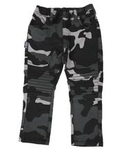 Boys - Camo Stretch Moto Jogger Pants (2T-4T)-2507287