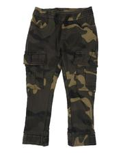 Boys - Camo Stretch Twill Jogger Pants (2T-4T)-2507291