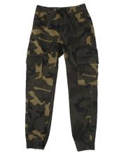 Boys - Camo Stretch Twill Jogger Pants (8-18)-2507300
