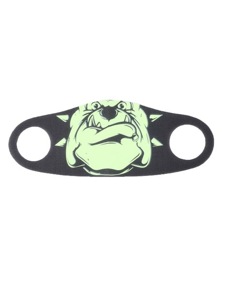 AMillion - Neon Bulldog Face Mask (Unisex)
