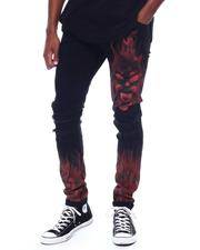 Crysp - ATLANTIC RED FLAME Jean-2506940