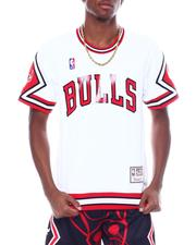 Mitchell & Ness - CHICAGO BULLS Authentic Shooting Shirt-2507157